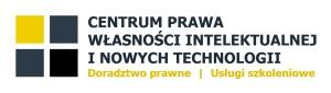 Logo Centrum PWINT - kwadraty nazwa dopisek